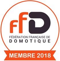 Logo adhérent FFDomotique 2018